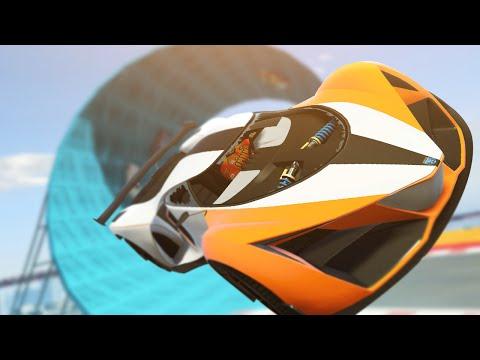 IMPOSSIBLE SKY LOOPS! GTA 5 NEW JOBS! (GTA 5 RACES LIVE)
