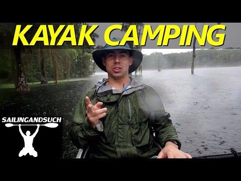 Solo Kayak Camping Marianna Florida Springs