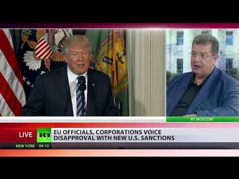 'Trump's hands tied, EU furious' - US businessman on sanctions
