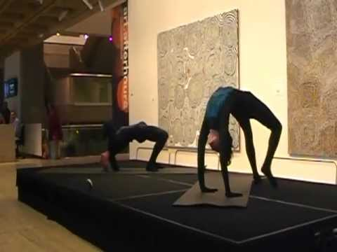 Yoga Synergy Advanced Yoga Demonstration: Art Gallery of NSW: Francis Bacon Exhibition