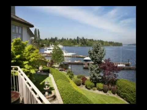 Lake Washington and waterfront property - home searches in Pacific Northwest