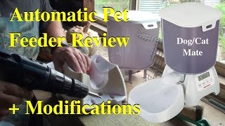 Review & Modification of Dog Mate Automatic Pet Food Feeder
