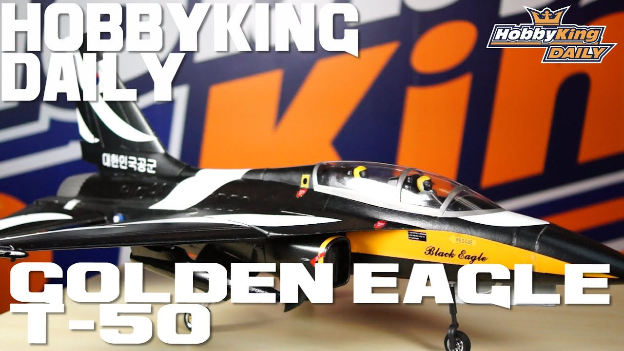 Golden Eagle T-50 EDF Jet - HobbyKing Daily