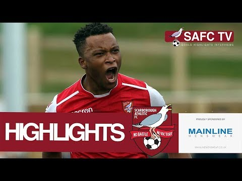 Highlights: Scarborough Athletic v Brighouse Town - 14/04/2018