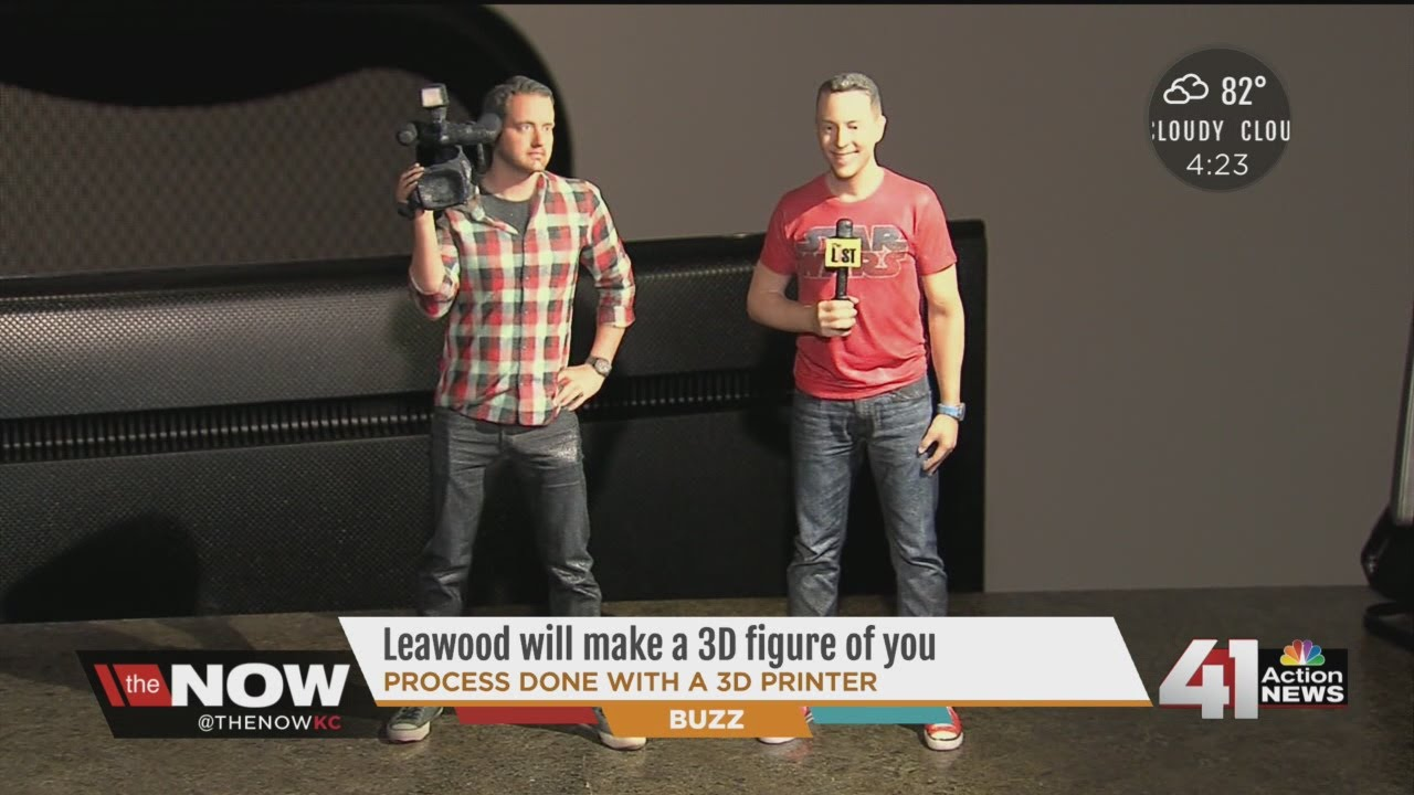photograph about 3d Printable Figures identified as Workplace within just Leawood produces customized 3D posted collectible figurines