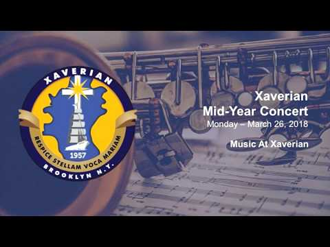 Xaverian High School Mid-Year Concert 2018