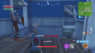 Slowly getting better:Fortnite battle royale PS4 live stream:Slow builder