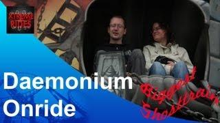 Biggest Ghost Train of the world: Daemonium Blume Impressie + Onride, Pforzheim Germany