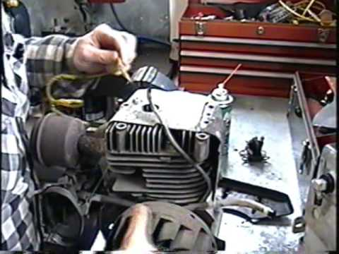 How To Remove Flywheel Amp Timing Of Points Ontecumseh 8hp