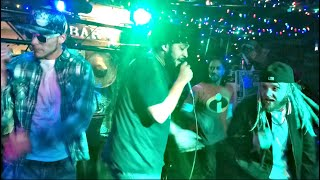"""Trappin' In Paradise"" performed at Spanky's Dive Bar"