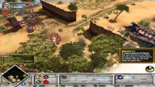 Rise And Fall Civilizations At War - Alexander Campaign - Mission 8 - Pursuit - Part 1