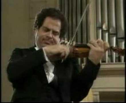 Itzhak Perlman - Serenade Melancolique Op 26.