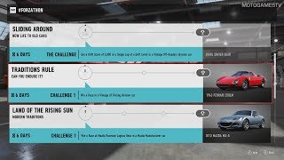 Forza Motorsport 7 - August #Forzathon Events #2 (August 10 - August 17