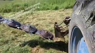 Фото Косилка КРН 2.1 на тракторе  т 40ам