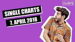 TOP 20 MUSIK SINGLE CHARTS - 7. APRIL 2018
