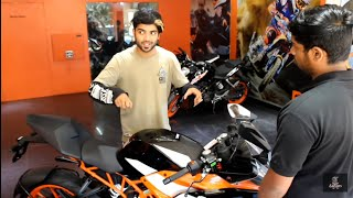 BOOKING and TEST RIDE of 2018 KTM RC390