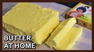 How to make Butter at Home | Just like Amul Butter | Butter Recipe -  No Equipment Needed