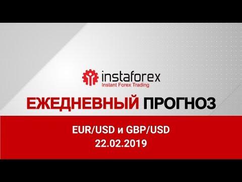 Прогноз на 22.02.2019 от Максима Магдалинина: Слабая статистика мешает евро и доллару США.
