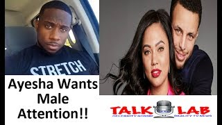 Derrick Jaxn Talks On Ayesha Curry Insecurities: She Wants Male Attention
