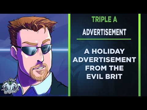 A Triple A Advertisement from the Evil Brit
