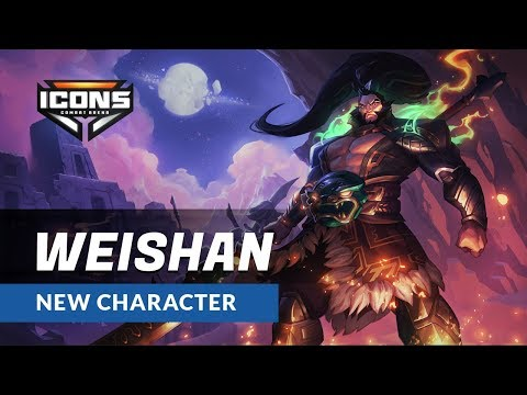 Icons: Combat Arena - Weishan Character Reveal