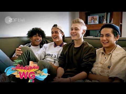 Die Jungs-WG 2017 checkt die neue Mädchen-WG - Die Mädchen-WG in Valencia | ZDFtivi