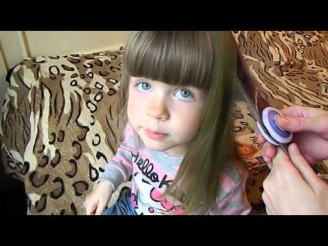 Мелки для волос, Красим волосы цветными мелками, Набор детской косметики