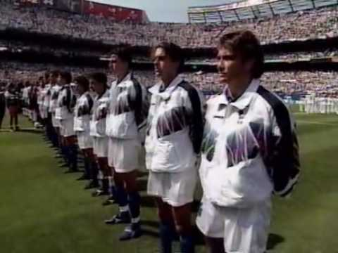 WC 1994  Italy  vs Bulgaria  National Anthem