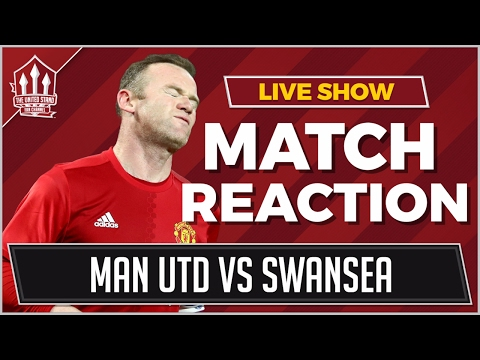 Manchester United vs Swansea 1-1 | ROONEY GOAL NOT ENOUGH!!!