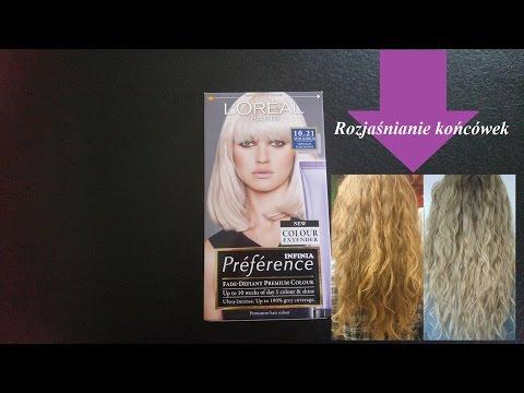 LOreal Preference Infinia 10.21 Stockholm | rozjaśnianie włosów | aniani