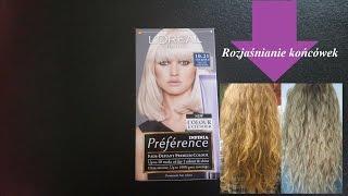 L'Oreal Preference Infinia 10.21 Stockholm |  rozjaśnianie włosów