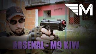 militia airsoft arsenal beretta m9 da kjw