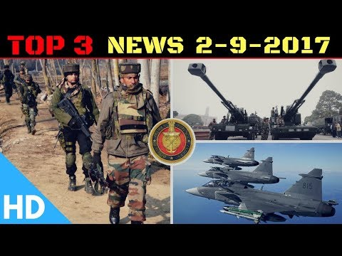 Top 3 Latest Headlines : Indian Defence Updates : Sweden's SAAB & Adani Group, ATAGS Trials