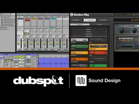 Sound Design Tutorial: Using Ableton Live's Effects Racks w/ Native Instruments Guitar Rig