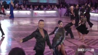 Ruslan Aidaev - Valeriya Kozharinova, RUS, 1/2 Cha-Cha-Cha