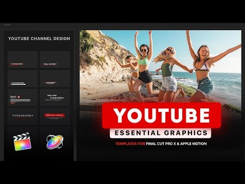 [ Template ] - Youtube Essential Library | Final Cut Pro X