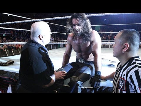 Seth Rollins injured, vacates WWE Championship