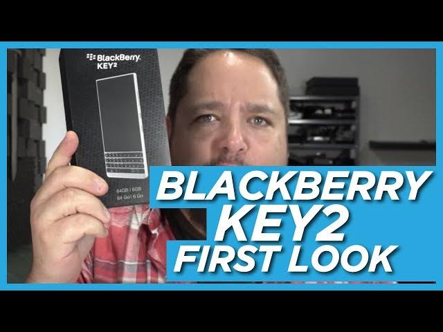 BlackBerry KEY2 First Look