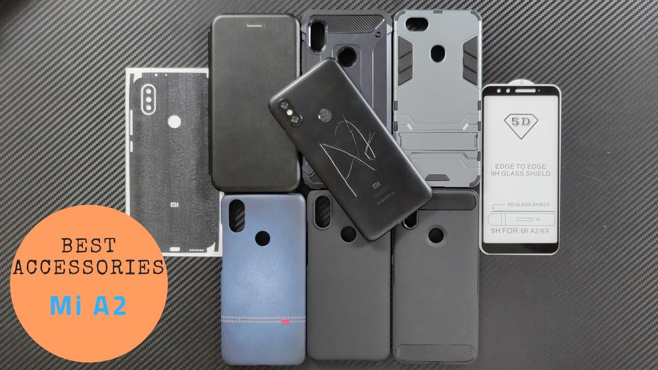 on sale 23bc1 99130 [Hindi] Xiaomi Mi A2 (MiA2) Accessories (Back Case & Cover, Tempered Glass,  Skins)
