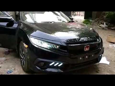 Honda Civic Modifications Mustang Style Back Lamp