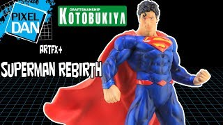 Kotobukiya Superman Rebirth DC Comics ArtFX+ 1/10 Scale PVC Statue Video Review