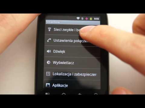 Motorola Fire XT311 - appearance, menu - part 1