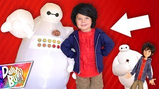 BIG HERO 6 IN REAL LIFE! ⚡️ Toddler's New Hair!
