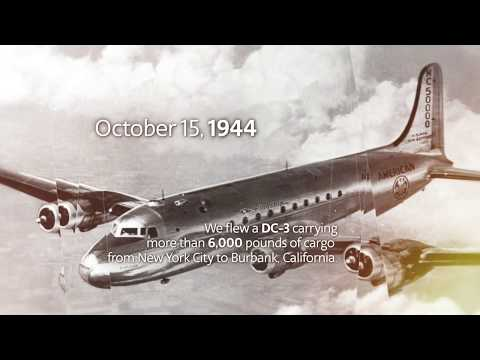 75 years of cargo service