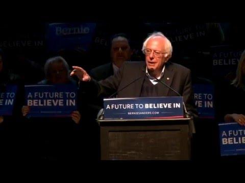 Bernie Sanders LIVE From Portland, Maine