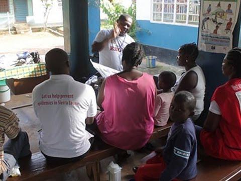 Sierra Leone in Lockdown to Control Ebola, September 21, 2014 - Associated Press  - PlmHZeukdh0 -
