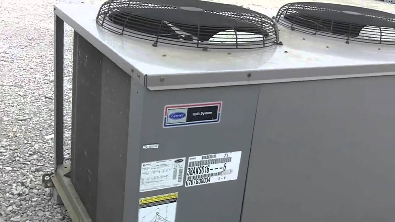 Carrier Split System Airconditioner Youtube