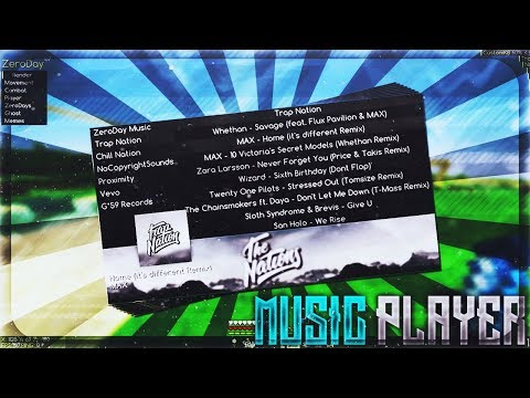 NEW AMAZING INGAME MUSIC PLAYER   ZeroDay b7   #ZeroDayHype
