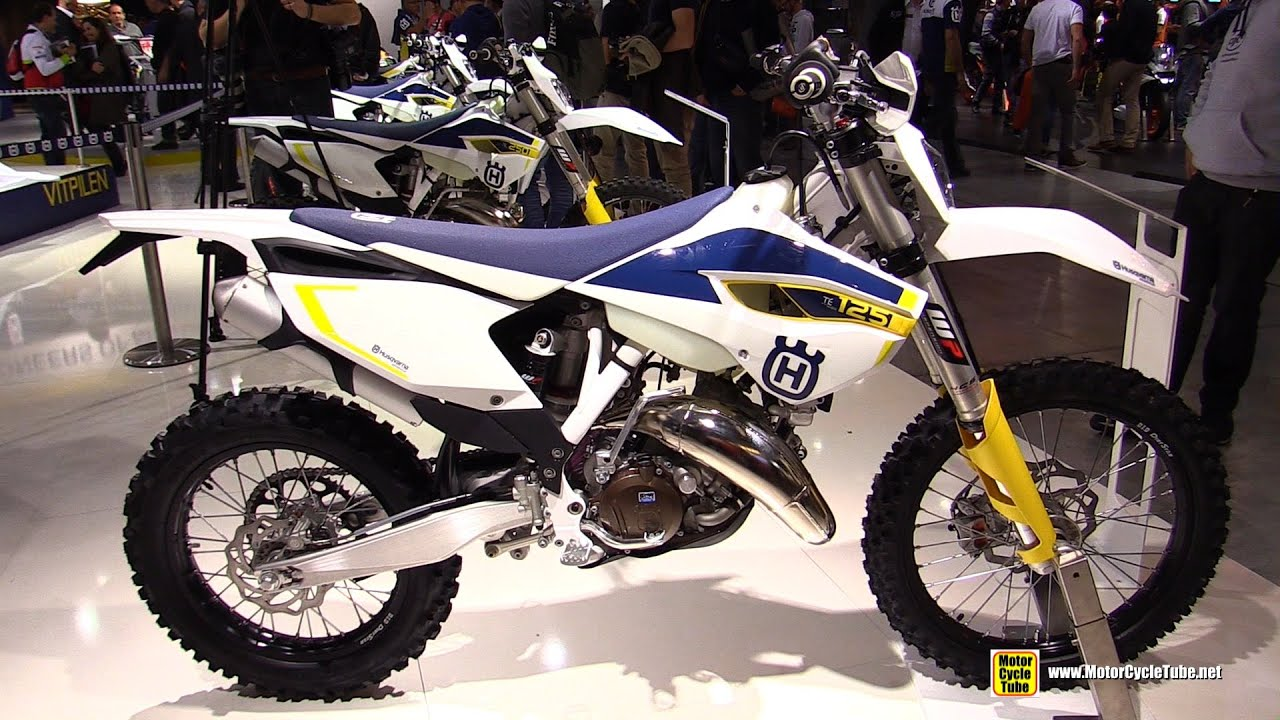 2015 husqvarna te 125 motorcross bike walkaround 2014 eicma milan motorcycle exhibition. Black Bedroom Furniture Sets. Home Design Ideas