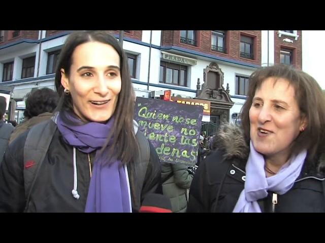 Manifestación 8 M Día Internacional de la Mujer en León